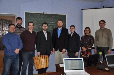 With (most of the) students, church leaders in Ukraine and Lithuania